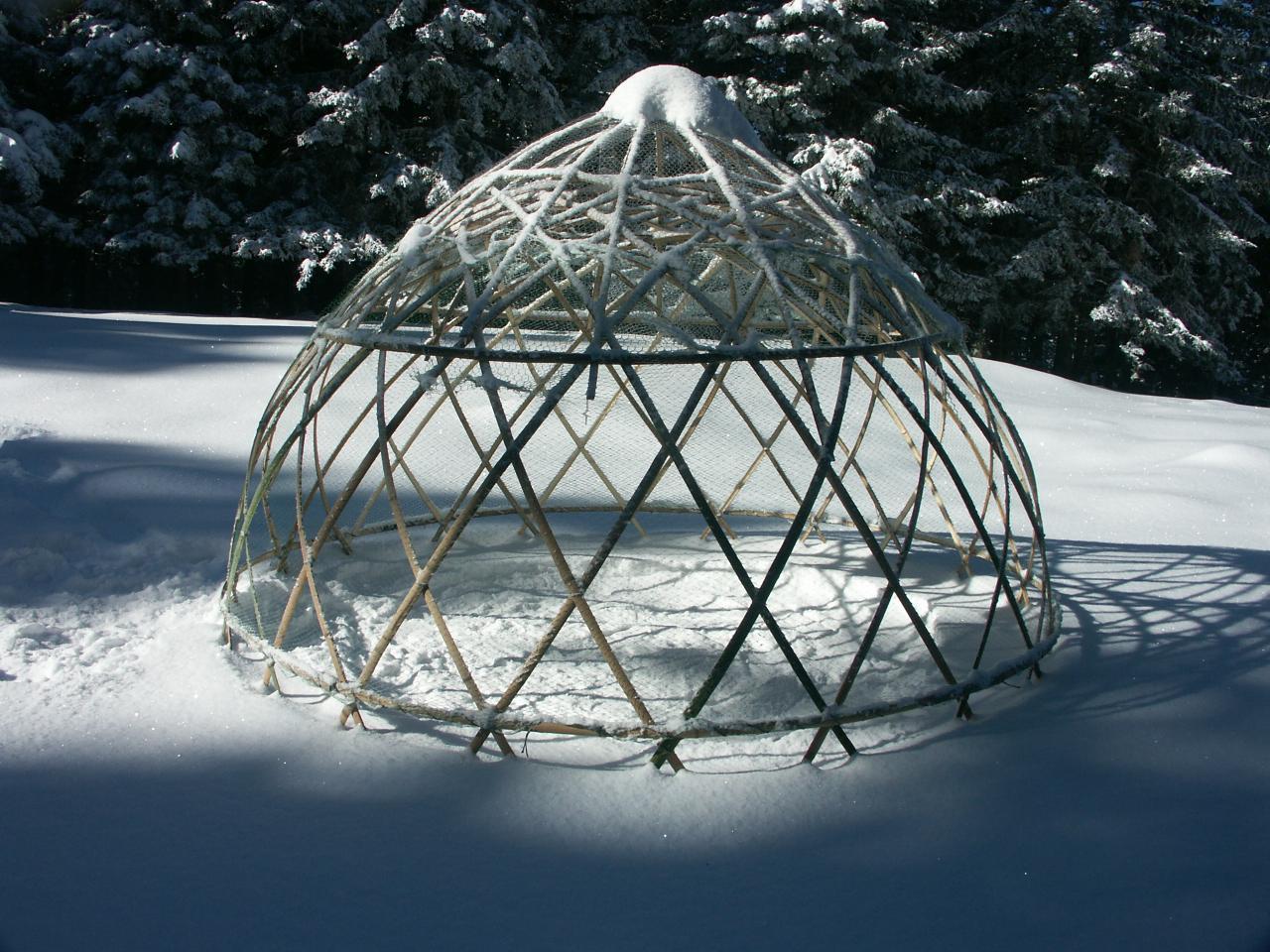 Dome pour passer la nuit sous les étoiles